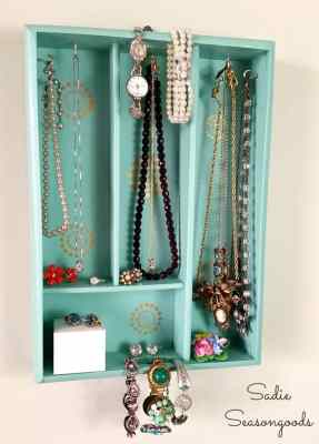 8_vintage_silverware_organizer_tray_upcycled_into_jewelry_holder_DIY_Sadie_Seasongoods