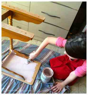 kids-painting-upcycled-furniture