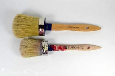 Fusion Mineral Paint paint brushes