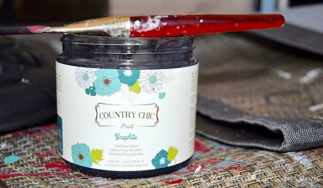 Country Chic Glaze in Graphite