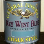 General Finishes Chalky Style Paint in Key West Blue