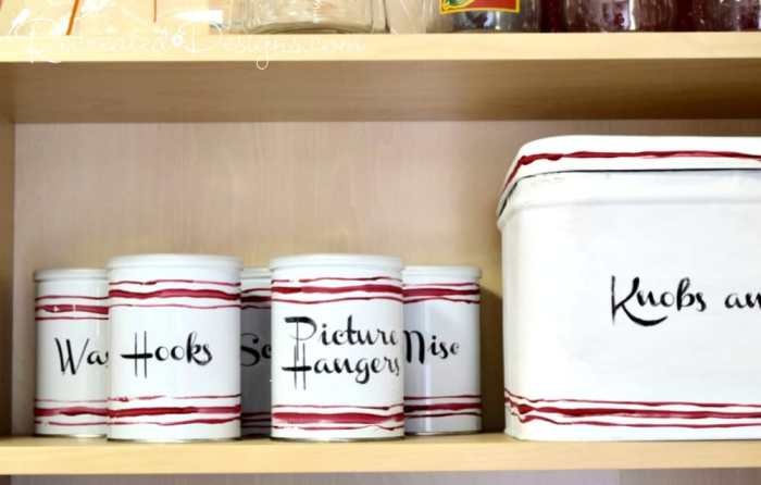 recycled-tin-cans-turned-storage-country-chic-paint