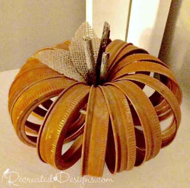 mason-jar-rings-turned-pumpkin-recreateddesigns