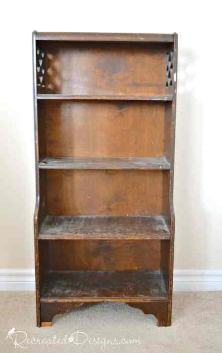 small Art Deco bookshelf