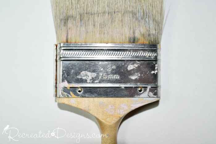 "metal ferrule on 3"" paint brush"