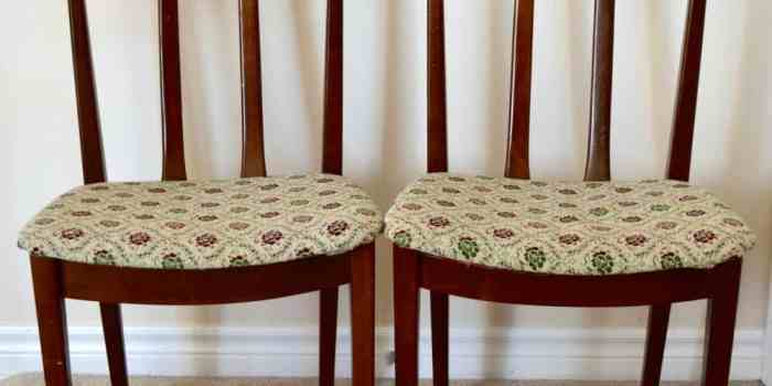 Transforming Art Deco Dining Chairs