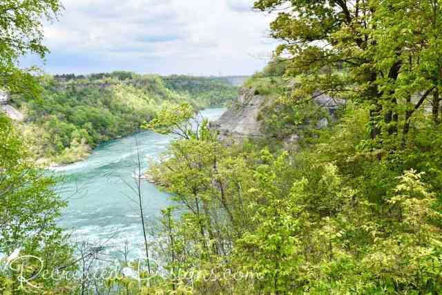 Niagara river escarpment Ontario travel