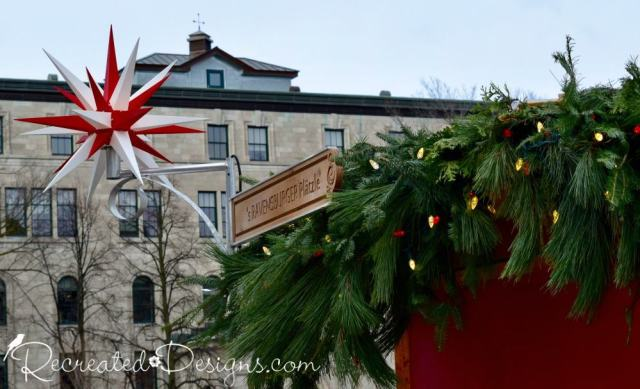 German Christmas Market in Quebec City Canada