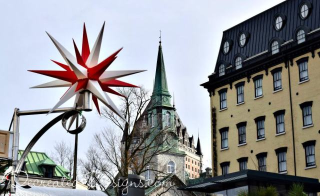 Old Quebec City Canada at Christmas