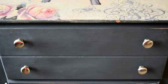 Using Mod Podge to Transform Any Piece of Furniture