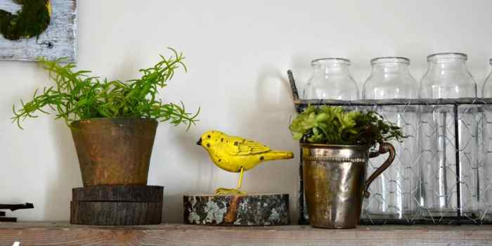 Spring Decorating in Cheery Yellows