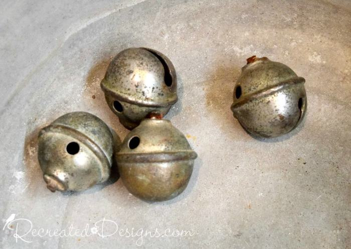 vintage jingle bells found at Ottawa's 613 flea at Lansdowne