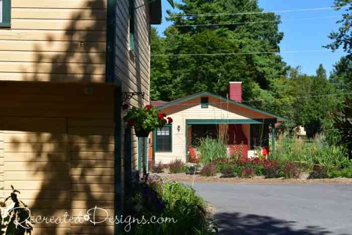 small cottages at The Opinicon historic resort Rideau Canal Ontario travel