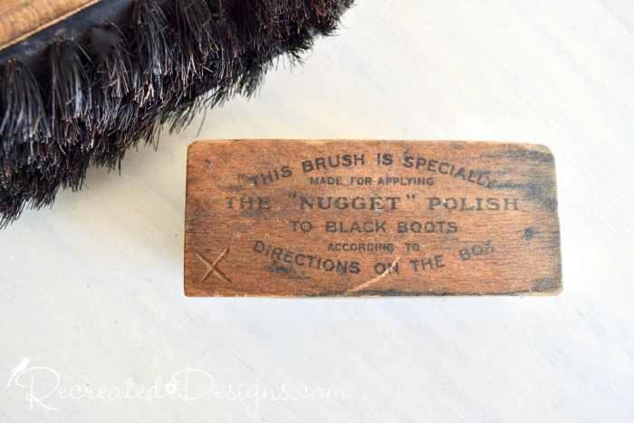 Nugget shoe shine brush