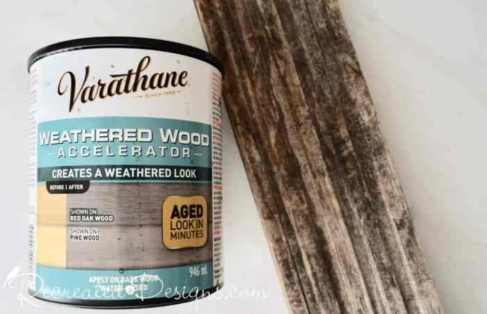 Varathane Weathered Wood Accelerator