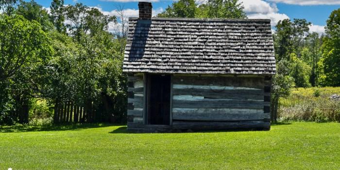 An Amazing 1860s Log Farm