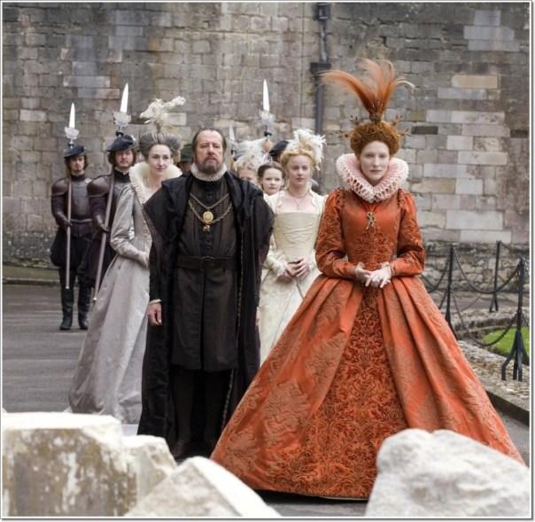reina Elizabeth en la Edad Media