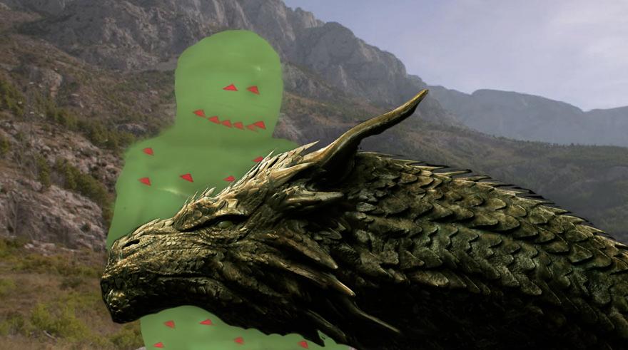 Internet Trollea La Imagen De Daenerys En Pantalla Verde