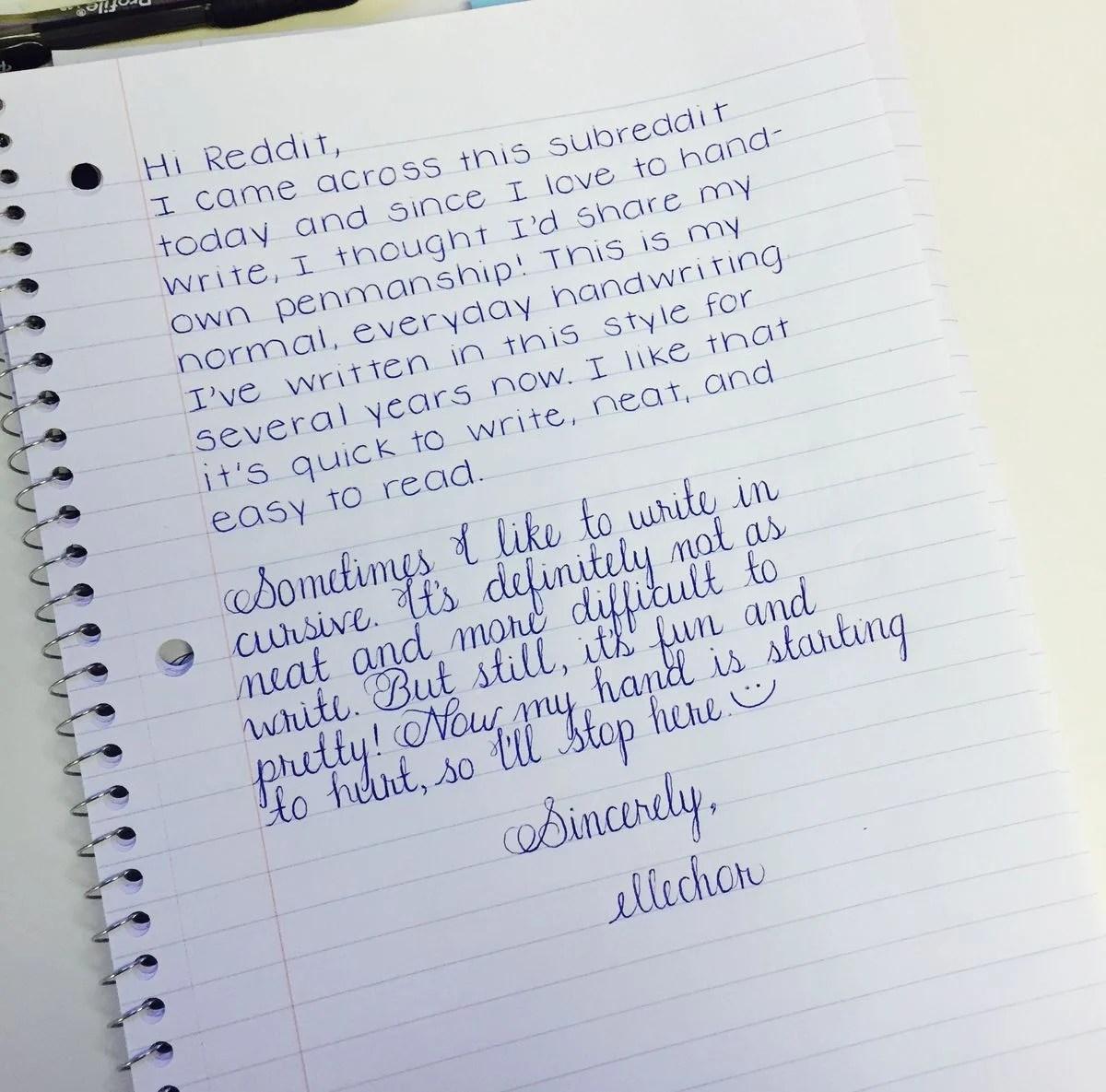 25 Ejemplos De Escritos A Mano Que Simplemente Son Perfectos
