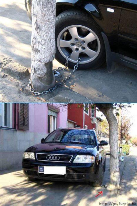 seguridad para que no te roben el carro