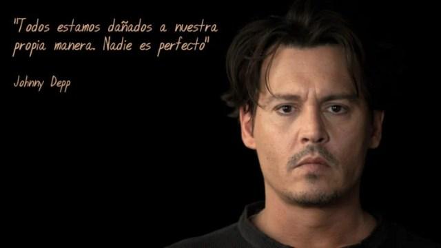 Frases Johnny Depp, dañados