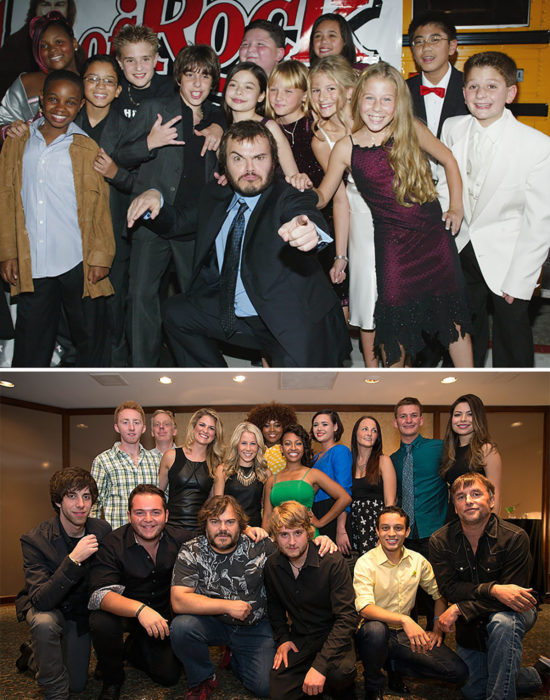 actores de school of rock 2003 vs 2013
