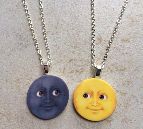 emoji collares Mejores amigas
