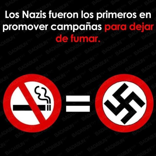 tabaquismo nazis