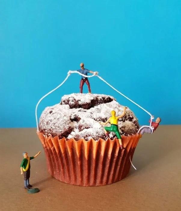 cup cake postre miniatura italiano