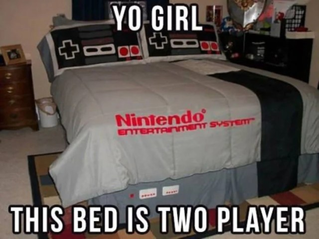 cama de nintendo