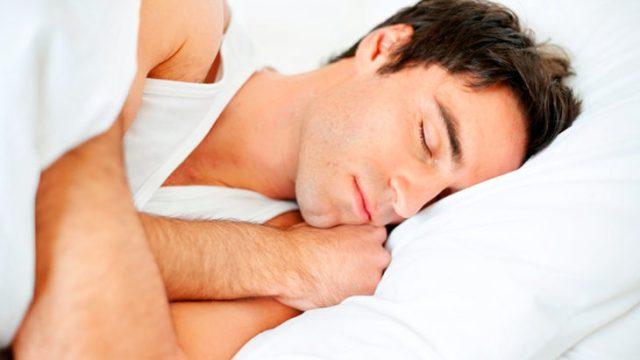 persona durmiendo