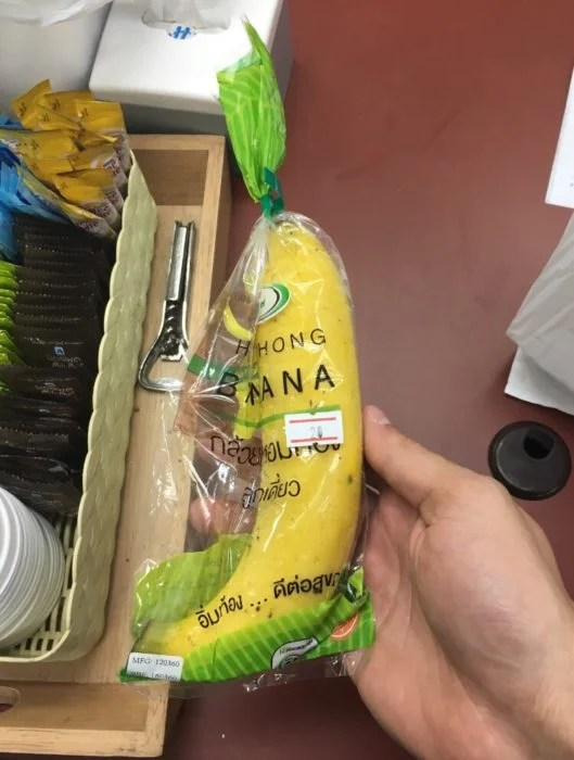 banana eempacada