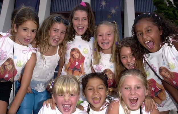 Britney Spears entusiastas 2000 pequeñas camisetas