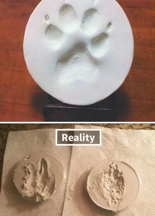huellita de chucho expectativa vs realidad