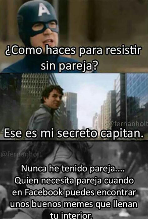 capitán américa y hulk