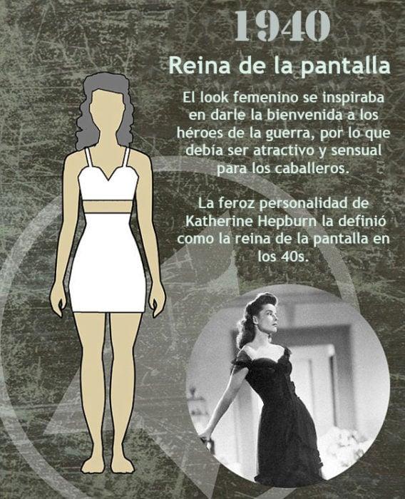 El cuerpo de moda 1940