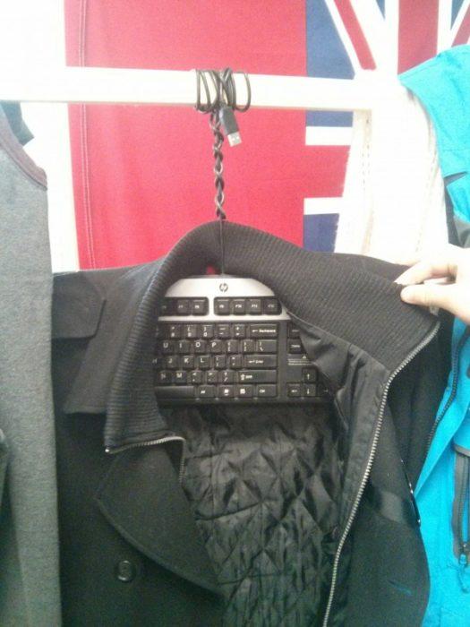 teclado cual gancho