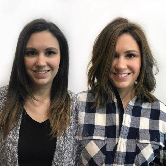 cambio de look chavala pelo cortometraje antes y después