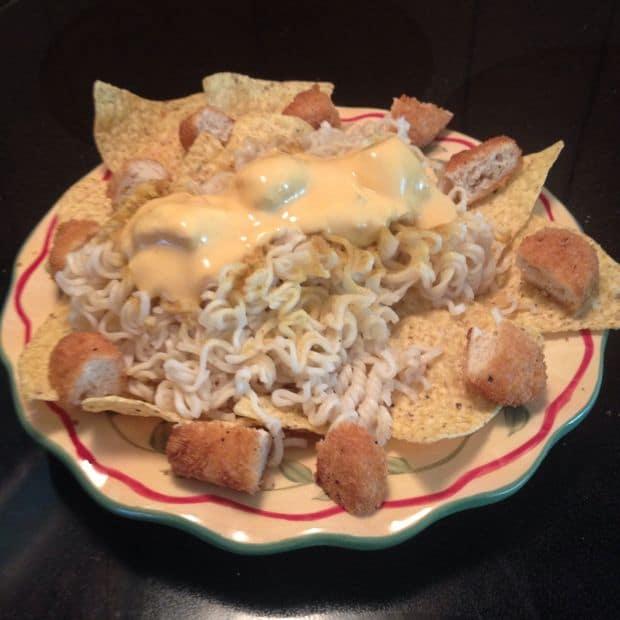 ramen nachos