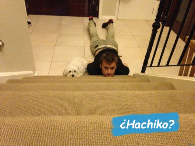 hombres no maduran escalera