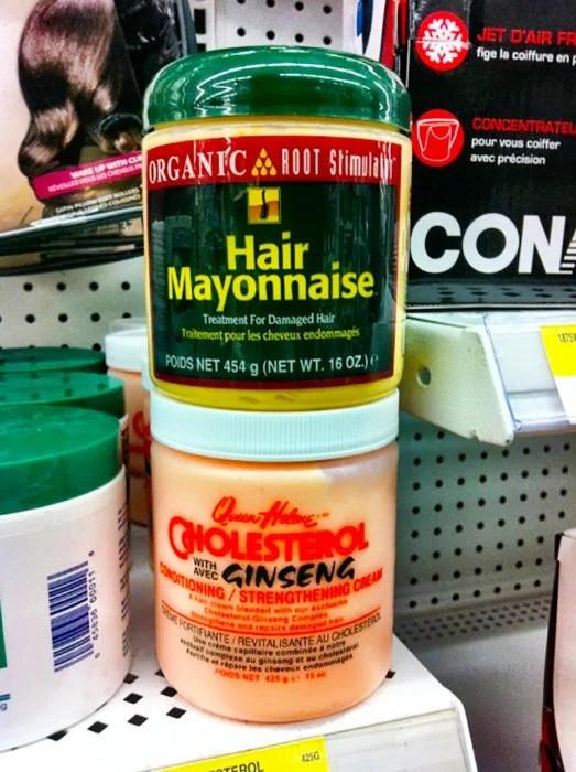 mayonesa para cabello