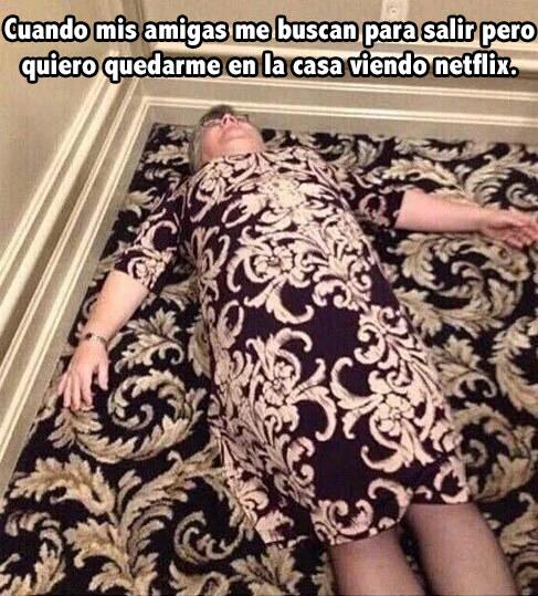 alfombra netflix