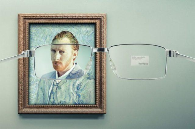 anuncio de optica