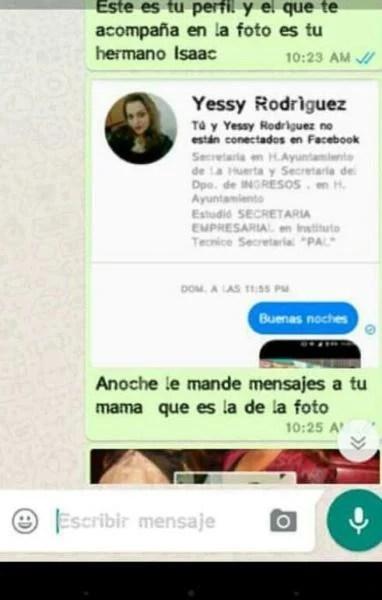 Chantaje WhatsApp - anoche le mandé mensajes a tu mamá