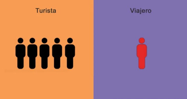 viajero y turista en conjuntos ó individuales