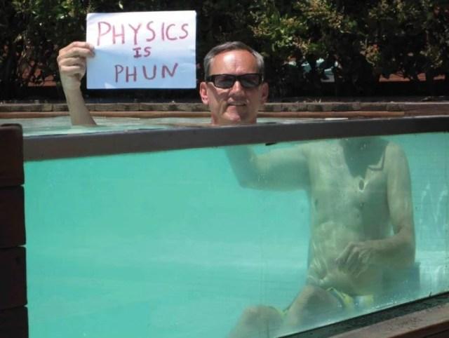 leyes de la física en el agua