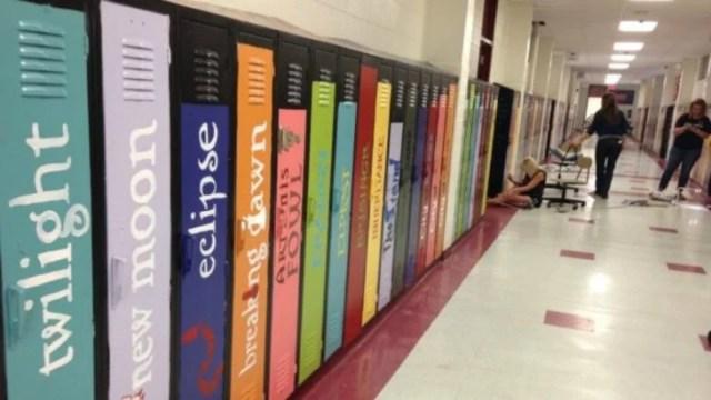 casilleros libros