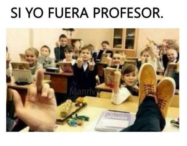 sería el mejor profesor del mundo