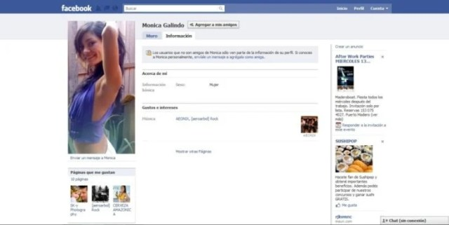 Nombres graciosos facebook - Monica Galindod