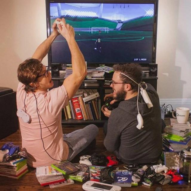 video juegos consolador reto